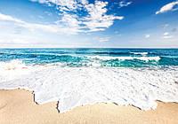 Фотообои 3D природа, море 368х254 (бумага, флизелин) Пляж океана (10218CN)