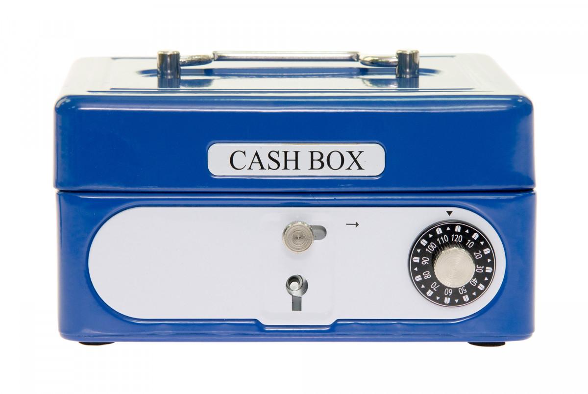 Ящик из кодовым замком goki для мальчиков 14021 синий