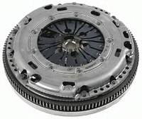 Демпфер + комплект сцепления VW Caddy 1.9TDI 77kw 04-10/2.0TDI 81kw 10-15, код 2289 000 280, SACHS