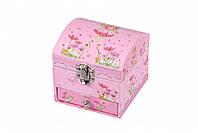 Шкатулка для украшений goki для девочек 15439G розовый