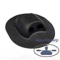 Тримач леєри кінцевий, колір чорний для надувного човна ПВХ, фото 1
