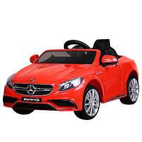 Детский электромобиль Mercedes S63 - M 2797 EBLR-3: 2.4G, EVA, 8 км/ч, мягкое сидение - купить оптом