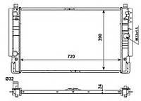Радиатор охлаждения VW T4 1.9-2.5TDI, код 509515, NRF