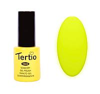 Гель лак Tertio №119, 10 мл желтый