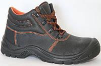 Ботинки из пресованной кожи