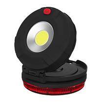 Батарея Работает портативная многофункциональная работа Лампа На открытом воздухе Кемпинг Свет с Магнит для пешего туризма , фото 3
