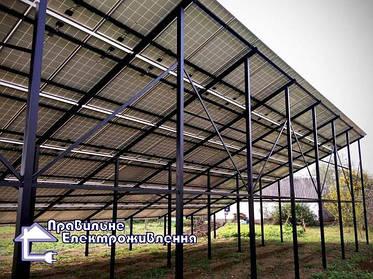 Вибір кріплення для сонячних панелей