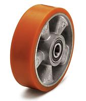 Колеса алюминий/полиуретан, диаметр 100 мм