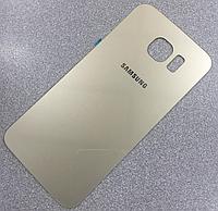 Задняя золотая крышка для Samsung Galaxy S6 G920A G920F G920I G920P G920R G920S G920T G920V G9200 G9208 G9209