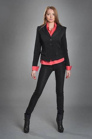 Модный классический женский офисный пиджак, фото 2