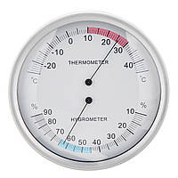 Два В One Настенный висячий барометр Погода Термометр Гигрометр Главная 132 мм