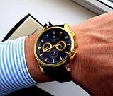 Кварцевые мужские часы Patek Philippe. Стильные мужские часы. Часы мужские реплика. Лучшие реплики часов., фото 3