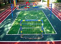 Резиновое покрытие для детских площадок: секрет популярности