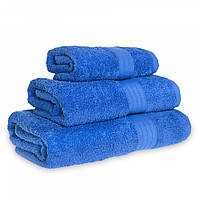 Махровое полотенце Grange, Синий (Баня 68*125 см), фото 1