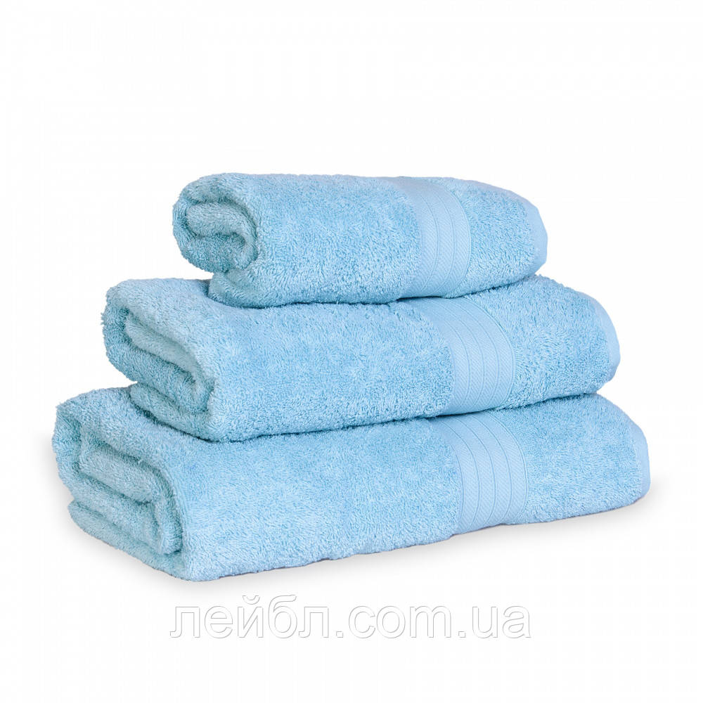 Махровое полотенце Grange, Мята (Сауна 90*150см)