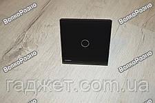 Сенсорный выключатель Livolo черного цвета., фото 2