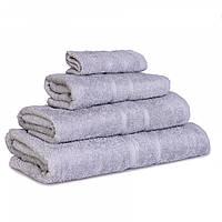 Махровое полотенце Luxury, Серый (Лицо 50*80см), фото 1