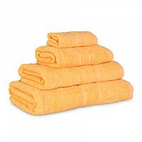 Махровое полотенце Luxury, Желтый (Салфетка 30*30см), фото 1