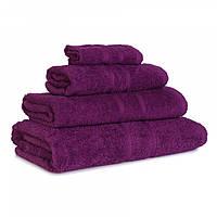 Махровое полотенце Luxury, Слива (Сауна 85*145см), фото 1