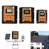 30A/50A/70A 12V/24V Интеллектуальный USB PWM Солнечная Панель Батарея Регулятор заряда регулятора