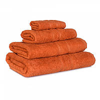 Махровое полотенце Luxury, Терракот (Баня 65*125см), фото 1