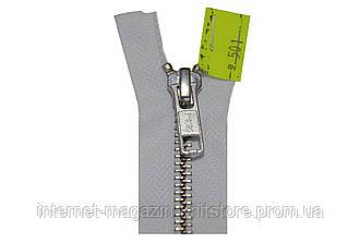 Молния YKK металлическая YKK 60 см | Тип 5 * 1 бегунок * разъёмная