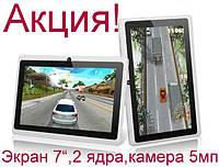 """Планшет - Навігатор Oloey X8 7"""" білий Dual Core 1.3 GHz, фото 1"""