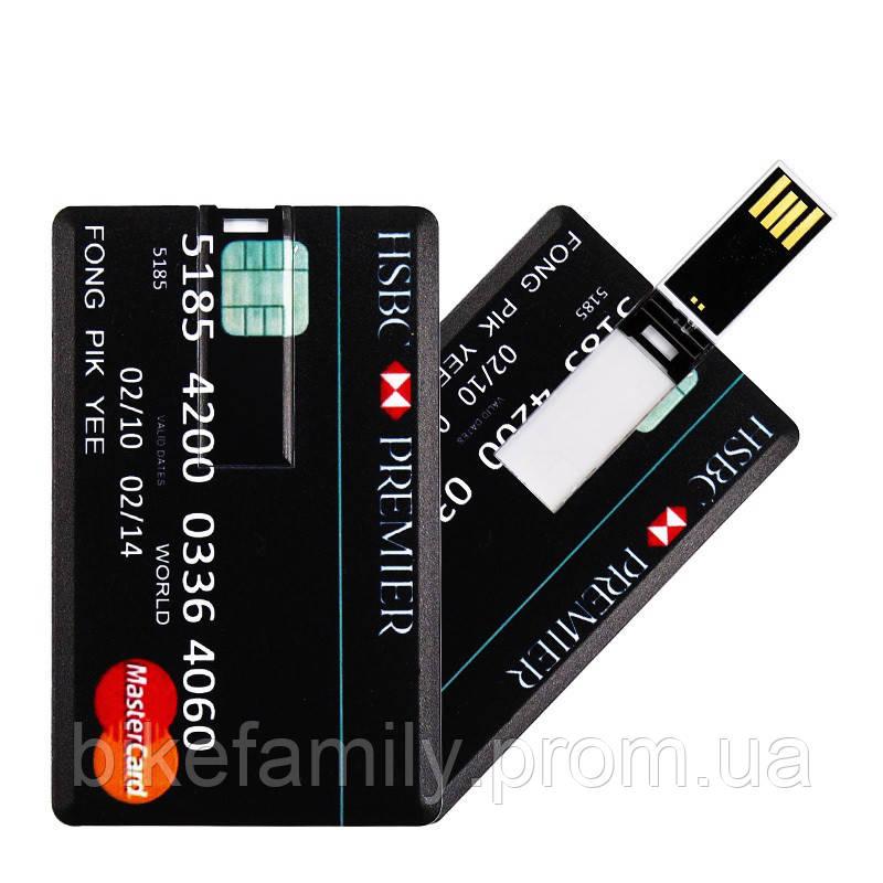 Флешка- кредитка 16 ГБ