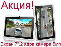 "Планшет - Навигатор Oloey X8 7"" белый Dual Core 1.3GHz"