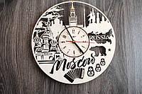 Интерьерные часы на стену «Москва, Россия», фото 1