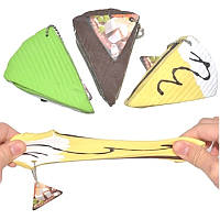 Сырный торт с шоколадным сыром Чай стрейч-стресс-игрушка с оригинальной подарочной цепочкой для подарков