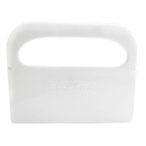 Держатель накладок MAXI на унитаз  белый ABS пластик D-302