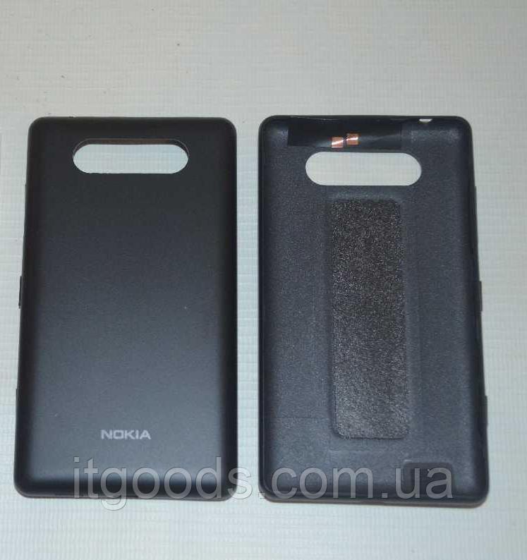 Задняя черная крышка для Nokia Lumia 820