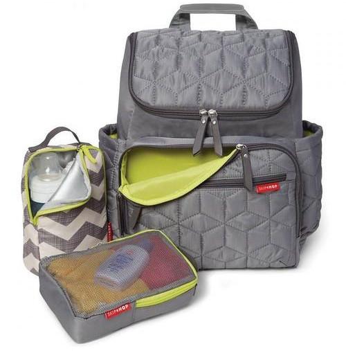 Рюкзак для мам Skip Hop Forma серый