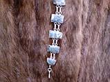 Великолепный браслет с моховым агатом. Браслет моховый агат серебре!, фото 6
