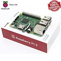 Микрокомпьютер Raspberry Pi 3 Model B (Made in UK) (RSP3-1GB)