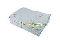 Одеяло шерстяное стеганое детское 100х140