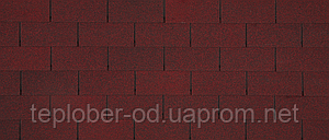 Бітумна черепиця Owens Corning CLASSIC Asian Red (3,1 м.кв./уп.)