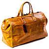 Сумка дорожная саквояж кожаный коричневый Eminsa 6519-4-2, фото 2
