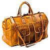 Сумка дорожная саквояж кожаный коричневый Eminsa 6519-4-2, фото 5