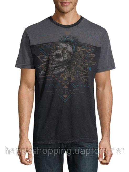 Мужская оригинальная футболка с принтом Affliction