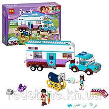 "Конструктор Bela Friends 10561 (LEGO Friends 41125) ""Ветеринарна машина для конячок 387 дет."