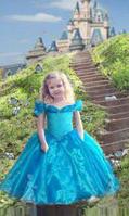 Нарядное платье для девочки Золушка мини