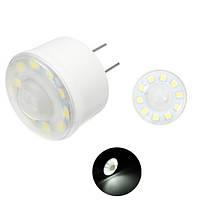 Плагин 1,8 Вт SMD5050 Pure White PIR Инфракрасный Датчик Контроль освещения Светодиодный Лампа AC220V