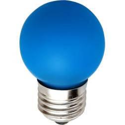 Светодиодная лампа Feron LB-37 G45 E27  1W синяя 230V  Код.58015, фото 2