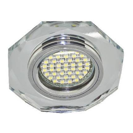 Светодиодный декор. светильник Feron 8020-20 MR16 с LED подсветкой Код.58017, фото 2