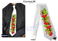 Заготовка под вышивку галстука №6