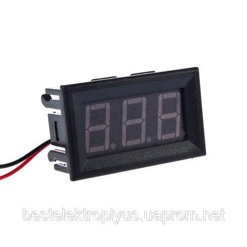 Вольтметр цифровой AC 70-500V встраиваемый (переменный ток)