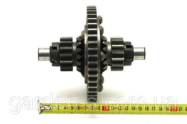 Дифференциал для мототрактора минитрактора (на заклёпках), фото 2