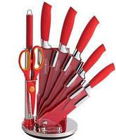 Новая линия кухонных ножей с подставкой Royalty Line RL-WS8 NON-stick coating